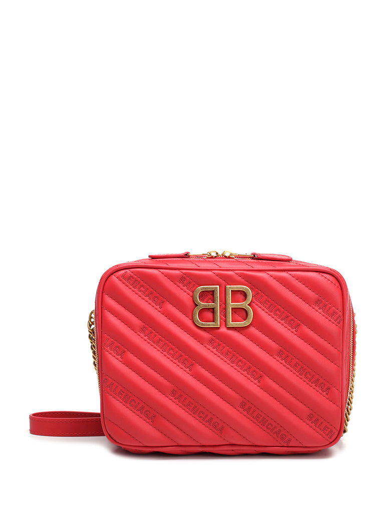 Buy Cheap Ebay BB Padded Shoulder Bag - Only One Size / Red Balenciaga Outlet Store Discount Pay With Visa Discount Release Dates 3FufN