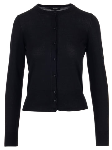 Theory Button-Up Cardigan