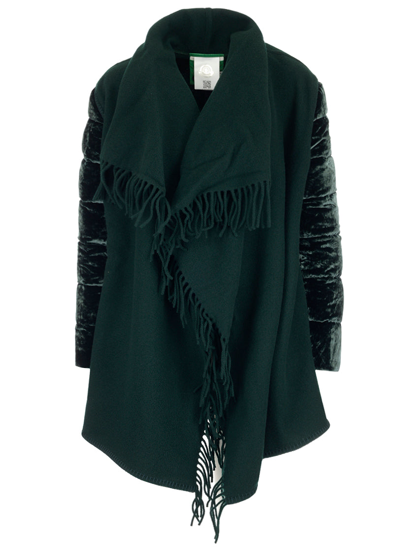 MONCLER FRINGED JACKET
