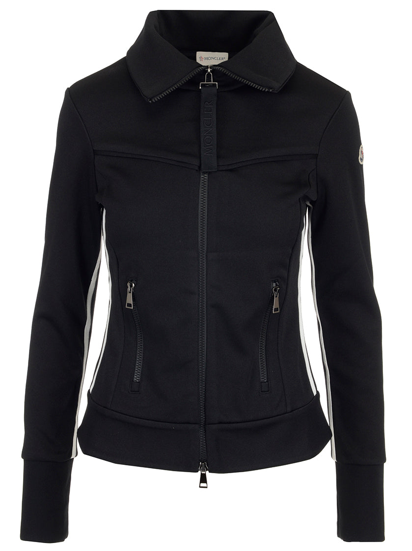 MONCLER FITTED ZIP JACKET