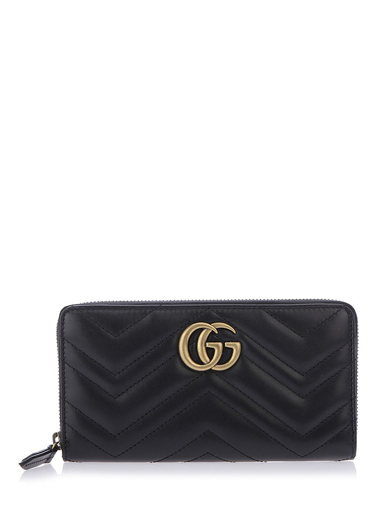 c50eae7f739d Gucci GG Marmont Quilted Wallet – Cettire