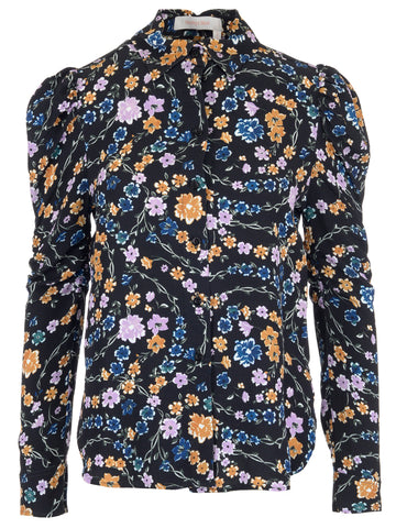 See By Chloé Floral Long Sleeve Top