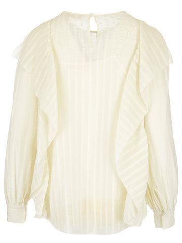 See By Chloé Ruffled Detail Blouse