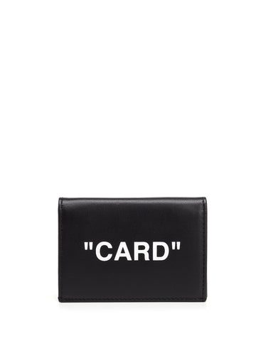 Off-White Card Wallet