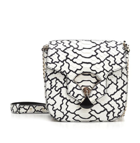 Bulgari Diva's Dream Pop Corn Python Bag