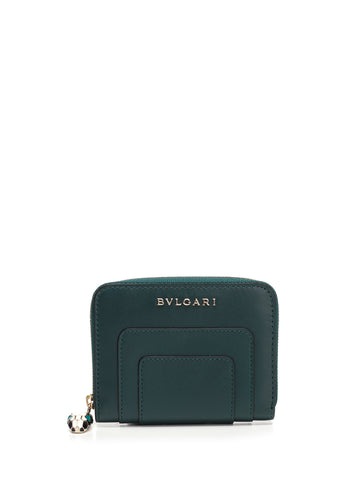 Bulgari Serpenti Forever Mini Zip Wallet