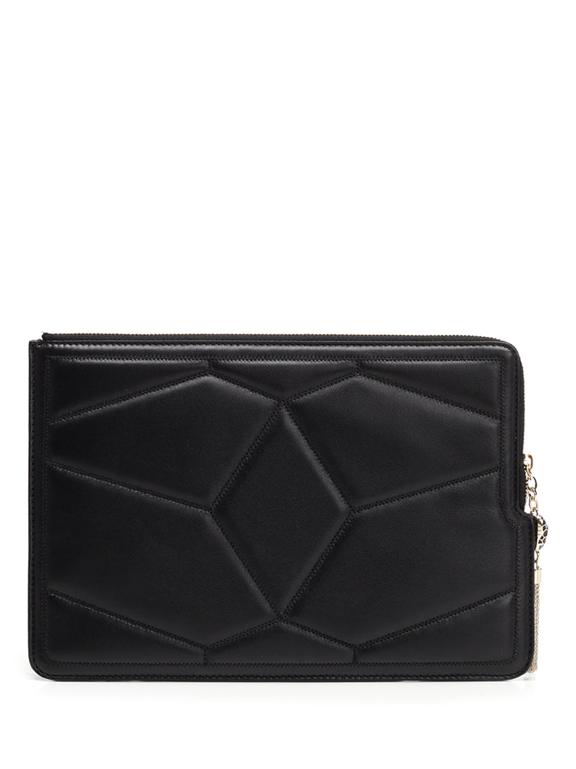 BULGARI SERPENTI FOREVER QUILTED POUCH
