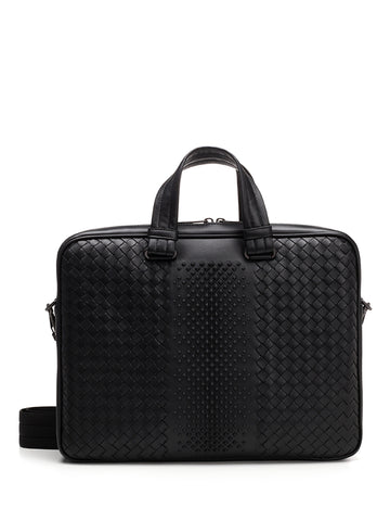 Bottega Veneta Studded Briefcase