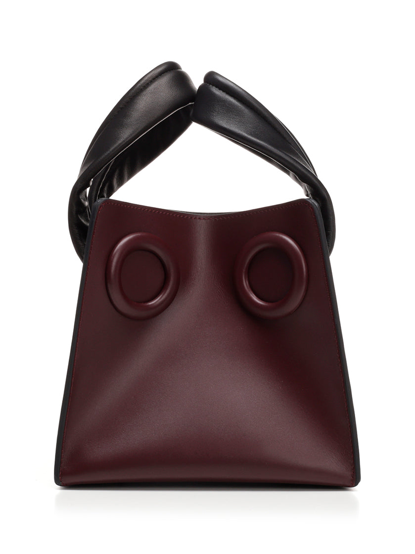 "BOYY Burgundy ""Deon"" Tote Bag in Bordeaux"