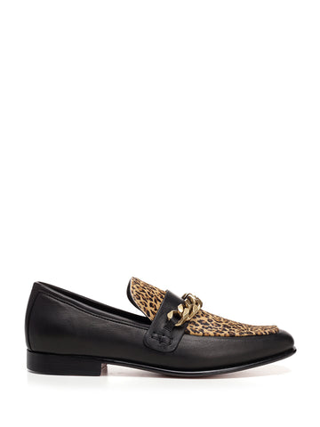 Boyy Calf Hair Leopard Loafer