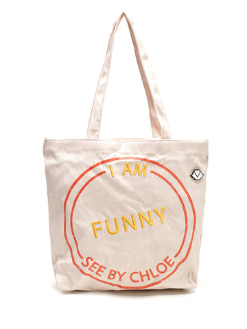 See By Chloé I Am Funny Tote Bag