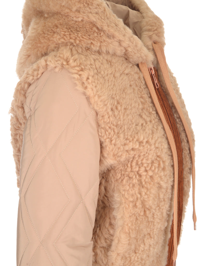 894aa6073 See By Chloé Shearling Bomber Jacket