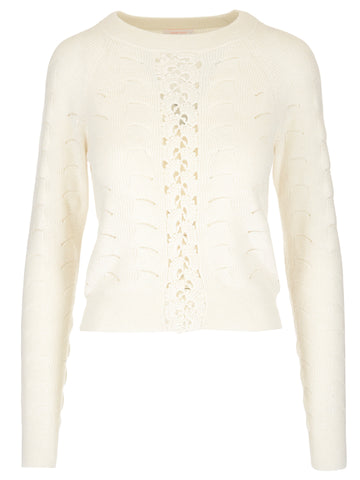 See by Chloé Cable Knit Pullover