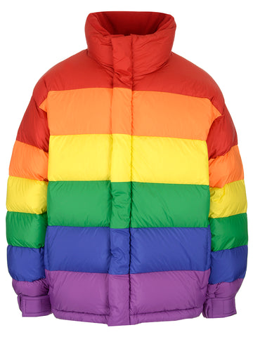 Burberry Rainbow Puffer Jacket