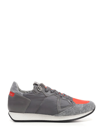 Philippe Model Contrast Panel Sneakers