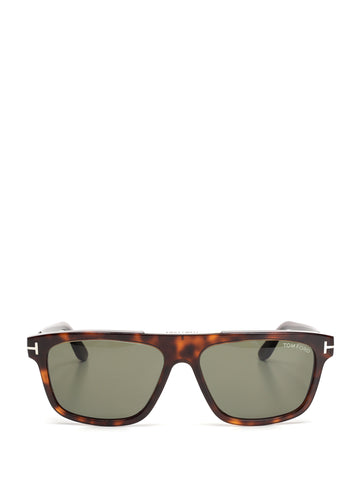 Tom Ford Eyewear Cecilio Soft Squared Sunglasses