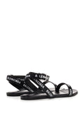 Balenciaga Logo Strapped Sandals