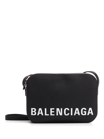 Balenciaga Logo Everyday Camera Crossbody Bag