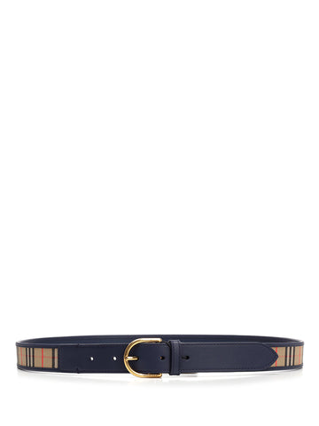 Burberry Alex Checked Belt