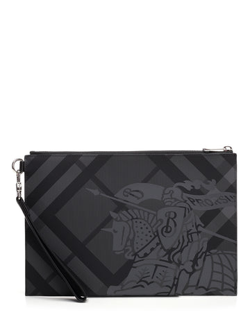 Burberry London Check Print Pouch