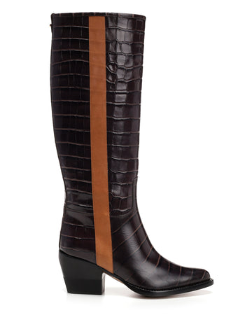 Chloé Side-Stripe High Boots