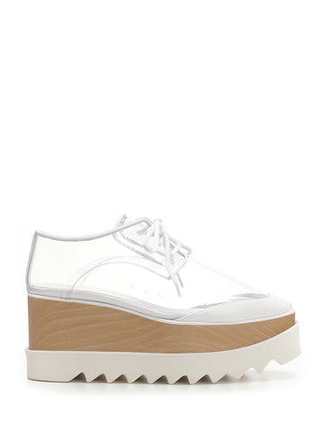Stella McCartney Elyse Platform Transparent Shoes