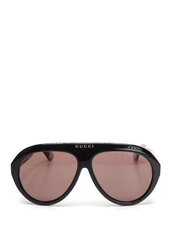 Gucci Eyewear Navigator Double G Sunglasses