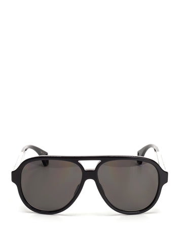 Gucci Aviator Striped Sunglasses