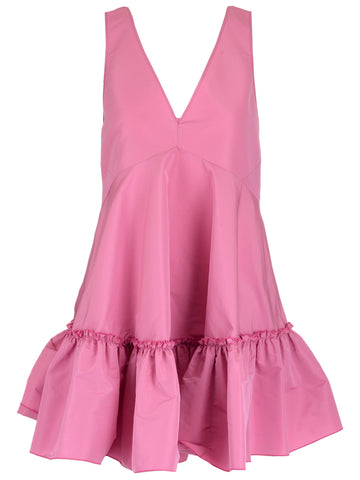 N°21 Sleeveless Ruffle Dress