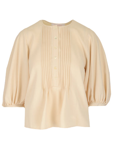 See By Chloé Pleated Blouse