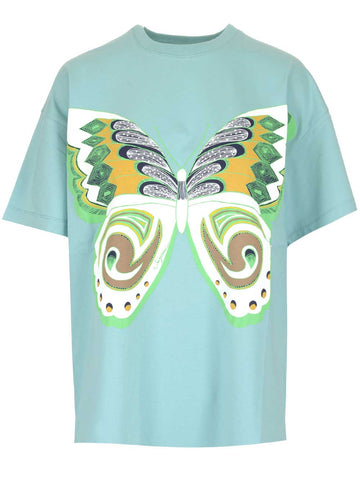 See By Chloé Butterfly Print T-Shirt