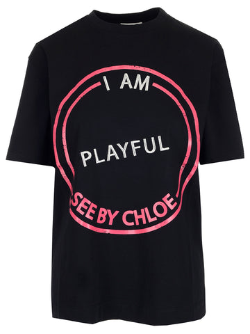 See By Chloé Printed T-Shirt