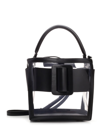 Boyy Devon 21 Transparent Top Handle Bag