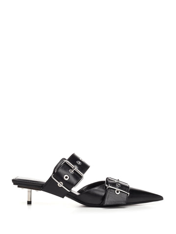 Balenciaga Belt Mule Pumps