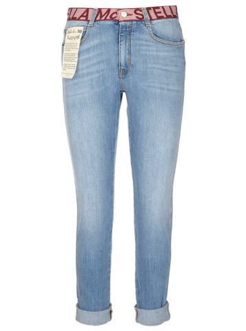 Stella McCartney Logo Waistband Jeans