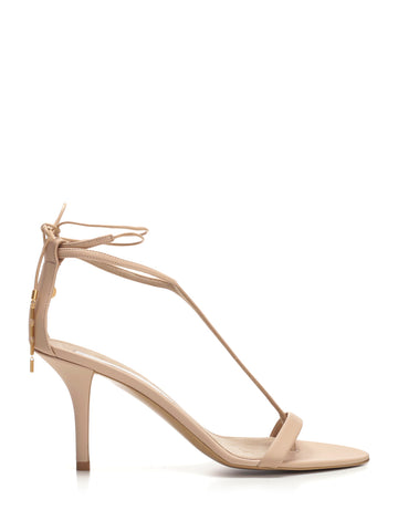 Stella McCartney Ankle Tie Stiletto Sandals