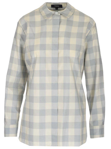Theory Checked Shirt