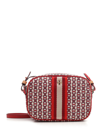 Tory Burch Gemini Link Logo Mini Crossbody Bag
