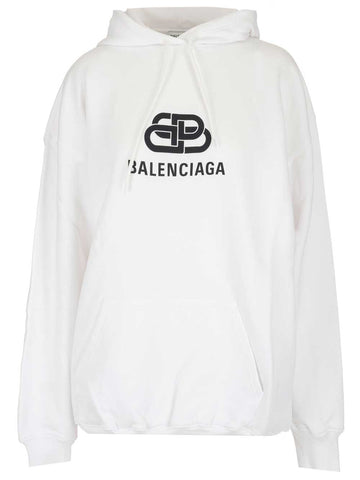 Balenciaga BB Logo Hooded Sweatshirt