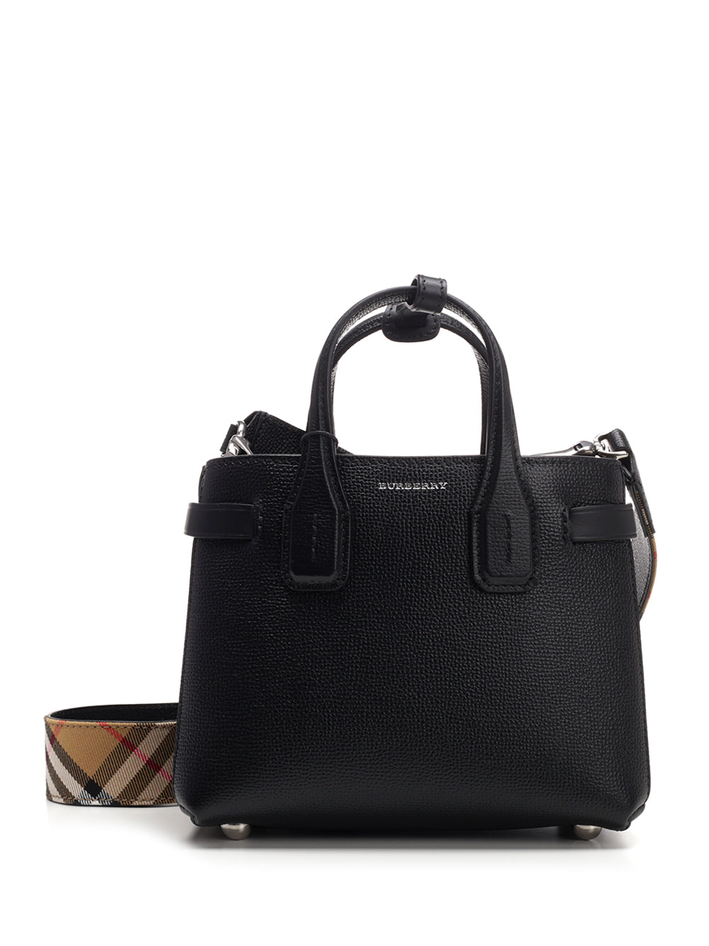 95707d3d0d Burberry Baby Banner Tote Bag In Black   ModeSens