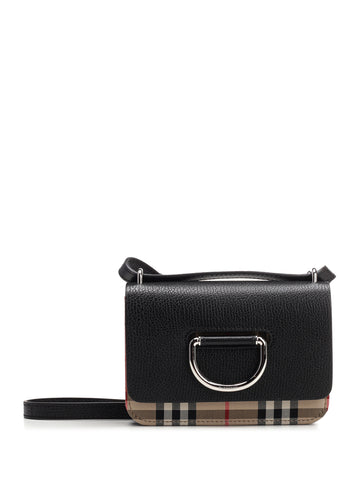 Burberry The Mini Vintage Check D-Ring Bag