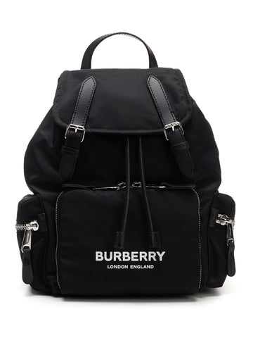 Burberry Medium Nylon Logo Rucksack Backpack