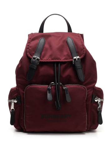 Burberry Medium Logo Rucksack Backpack