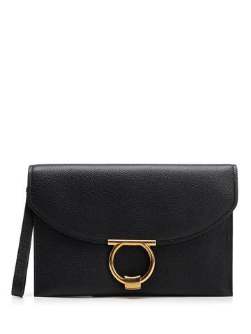Salvatore Ferragamo Flap Clutch Bag