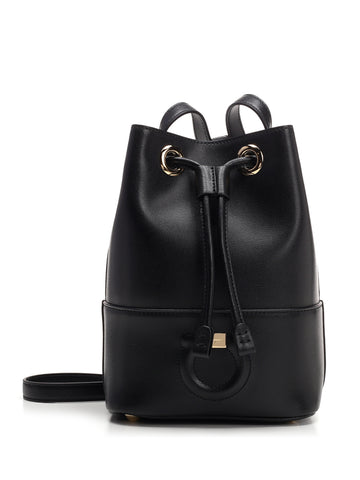Salvatore Ferragamo Drawstring Bucket Bag