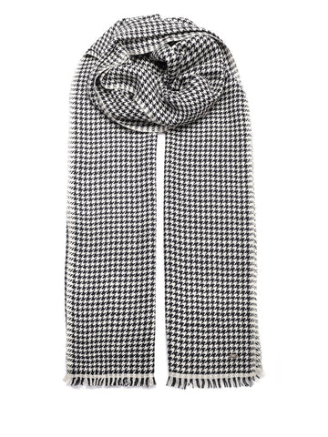 Saint Laurent Checked Scarf