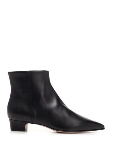 Red Valentino Pointed Toe Ankle Boots