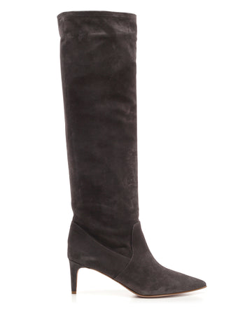 Red Valentino Pointed Toe Calf High Boots