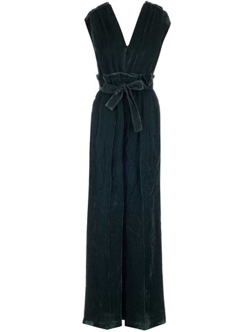 Golden Goose Deluxe Brand Belted Sleeveless Jumpsuit