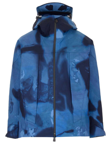 Moncler Grenoble Hooded Tie-Dye Jacket